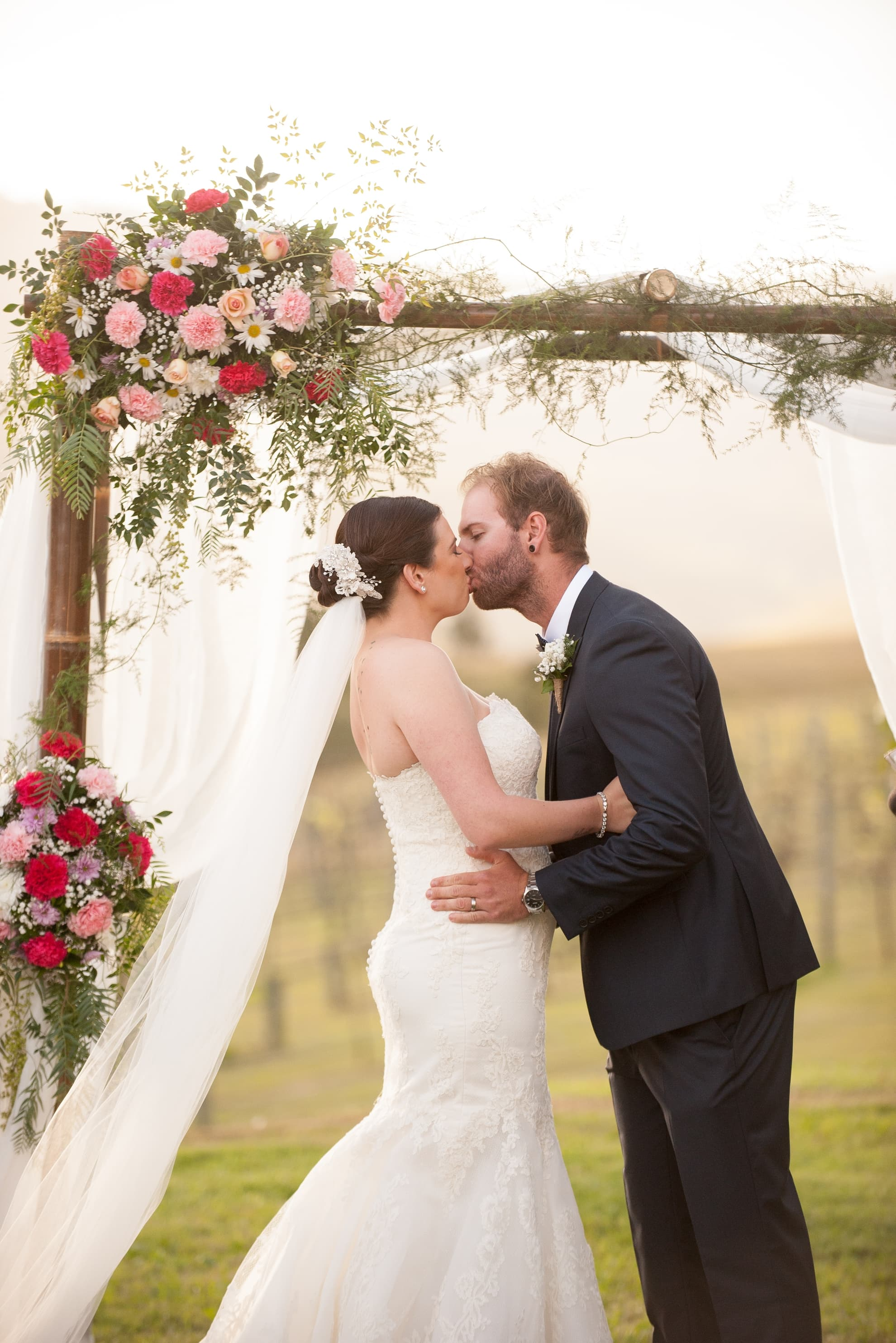 First-kiss-as-husband-and-wife